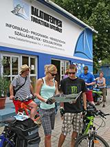 Balatonfenyvesi Turisztikai Egyesület irodája
